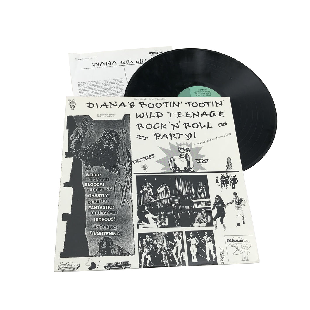 Various Artists: Diana's Rootin' Tootin' Wild Teenage Rock'N'Roll Party 12