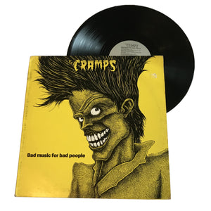 "Cramps: Bad Music for Bad People 12"" (used)"