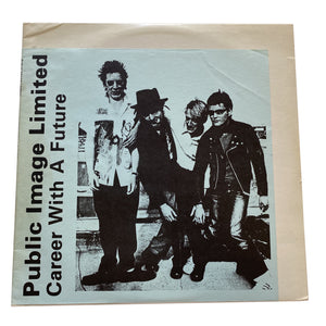 "Public Image Ltd.: Career With A Future 12"" (used)"