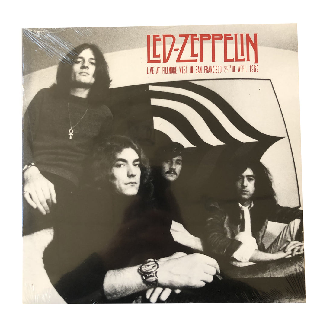 Led Zeppelin: Live at Filmore West 1969 12
