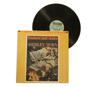 "Shirley Horn: Embers and Ashes 12"" (used)"