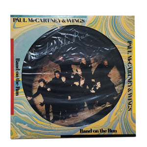 "Paul McCartney & Wings:  Band On The Run 12"" (used)"
