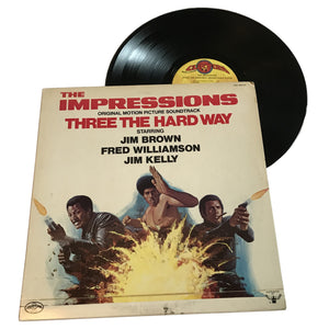 "The Impressions: Three The Hard Way OMPS 12"" (used)"