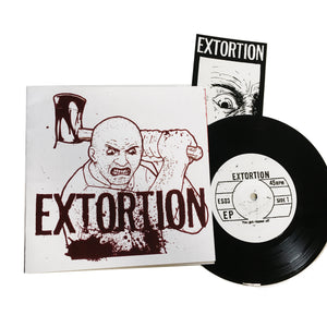 "Extortion: S/T 7"" (used)"
