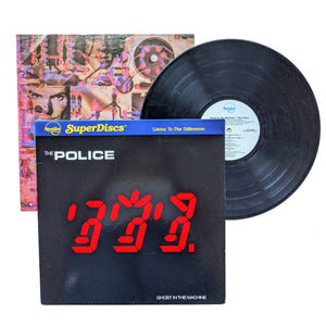 "The Police: Ghost in the Machine 12"" (used)"