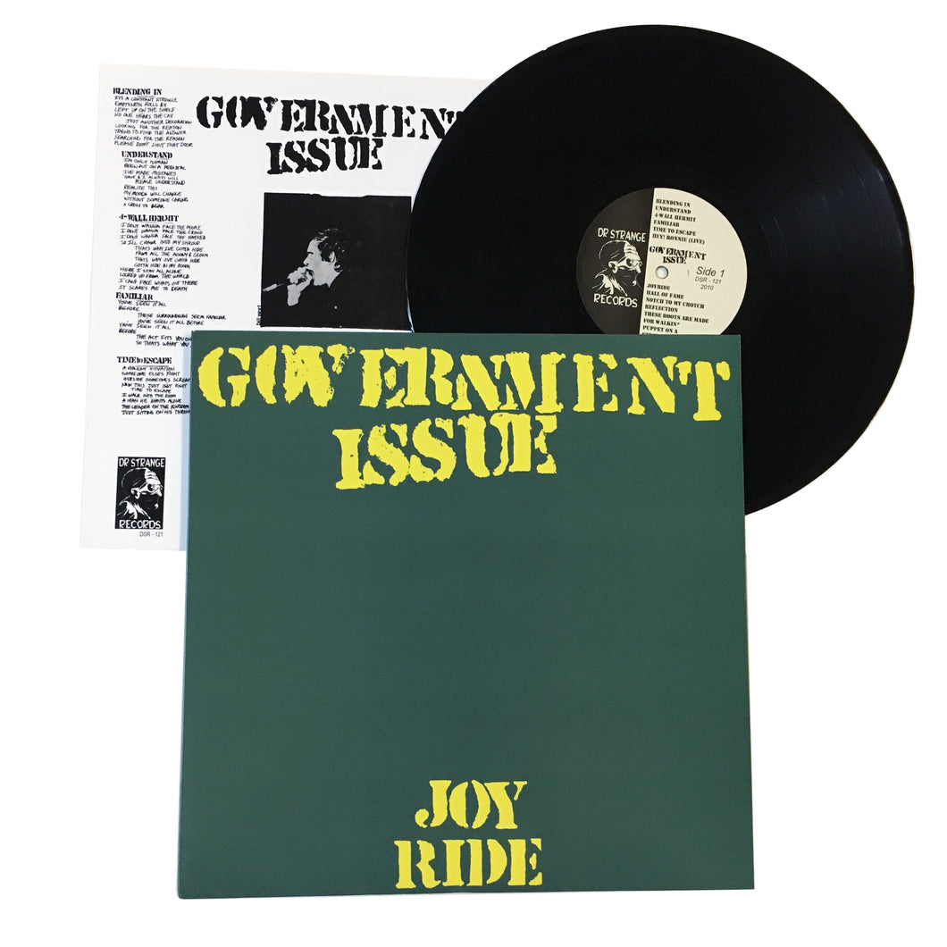 Government Issue: Joyride 12