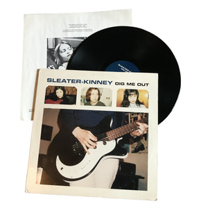 "Sleater-Kinney: Dig Me Out 12"" (used)"