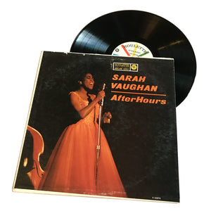 "Sarah Vaughan: After Hours 12"" (used)"