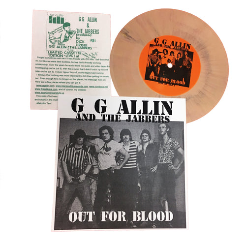 GG Allin and the Jabbers: Out For Blood 7