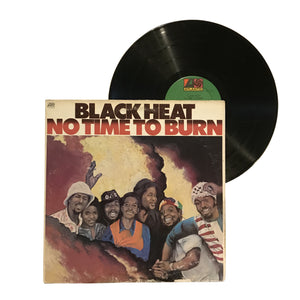 "Black Heat: No Time To Burn 12"" (used)"