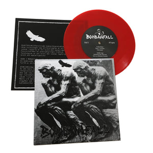 "Bombanfall: Åsiktsfrihet 7"" (2nd press, red vinyl)"