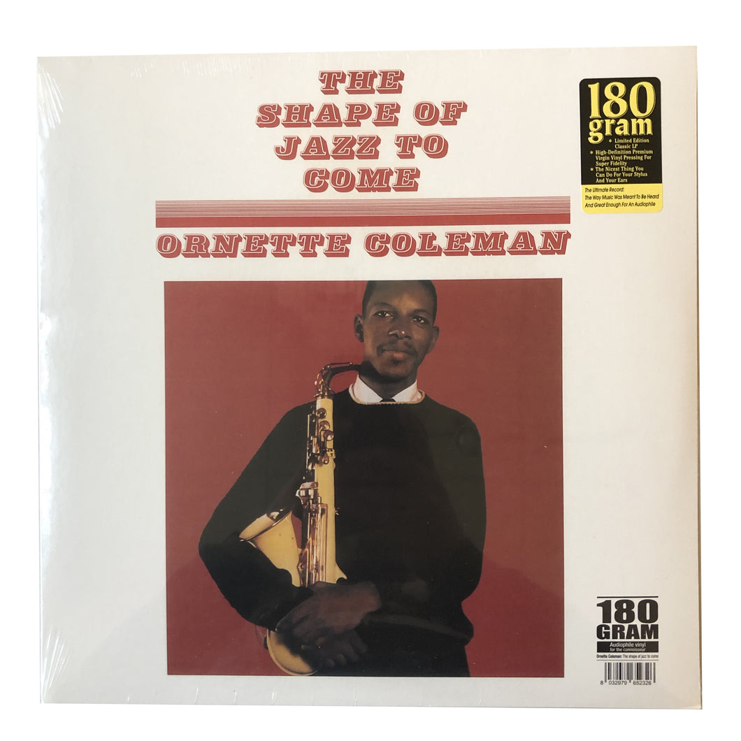 Ornette Coleman: The Shape of Jazz to Come 12