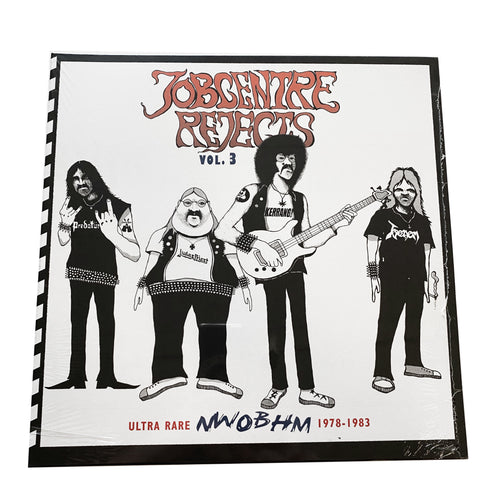 Various: Jobcentre Rejects Vol 3 - Ultra rare NWOBHM 1978-1983 12