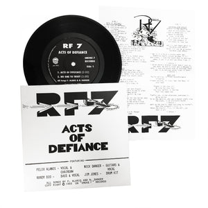 "RF7: Acts of Defiance 7"" (new)"