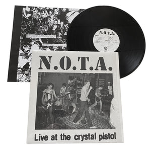 "NOTA: Live At The Crystal Pistol 12"" (used)"