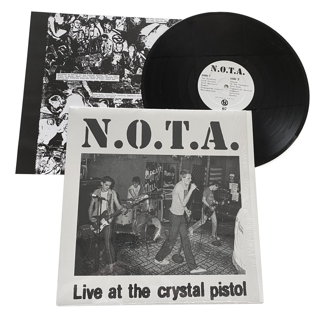 NOTA: Live At The Crystal Pistol 12