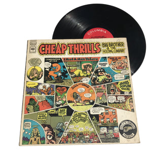 "Big Brother & The Holding Company: Cheap Thrills 12"" (used)"