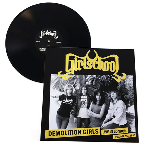 Girlschool: Demolition Girls: Live in London 12