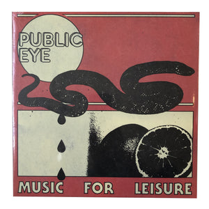 Public Eye: Music For Leisure 12""
