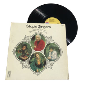 "Staple Singers: Be What You Are 12"" (used)"