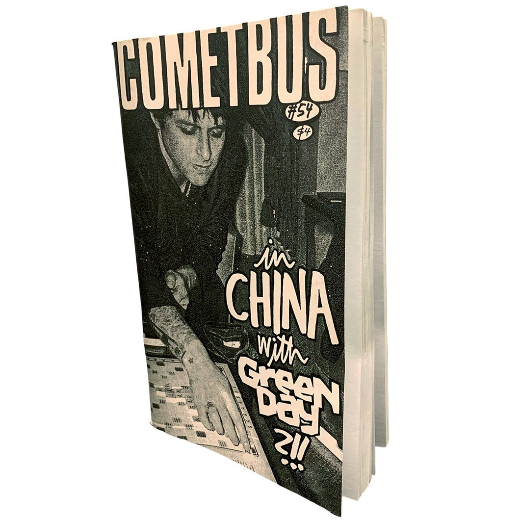 Cometbus #54: In China with Green Day zine