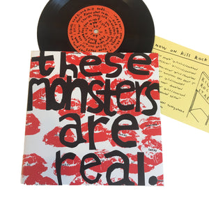 "Heavens to Betsy: These Monsters Are Real 7"" (new)"