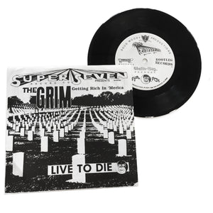 "The GRIM Getting Rich In 'Merica: Live To Die 7"" (used)"