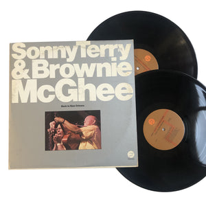 "Sonny Terry & Brownie McGhee: Back to New Orleans 12"" (used)"