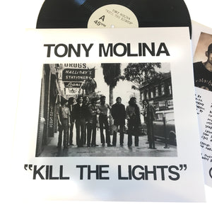 "Tony Molina: Kill the Lights 12"" (new)"