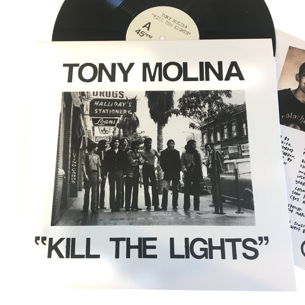 Tony Molina: Kill the Lights 12