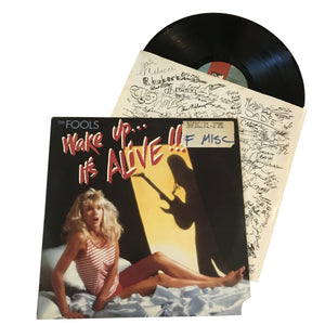 "The Fools: Wake Up...It's Alive !!! 12"" (used)"