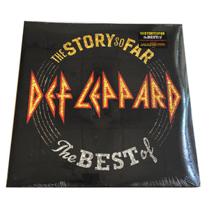 "Def Leppard: Story So Far 12"" (new)"