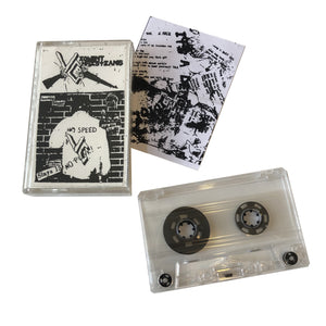 Violent Christians: No Speed No Punk! demo cassette