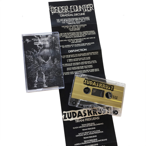 Geiger Counter: Zudas Crust: split cassette