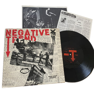 "Negative Trend: We Don't Play We Riot 12"" (used)"
