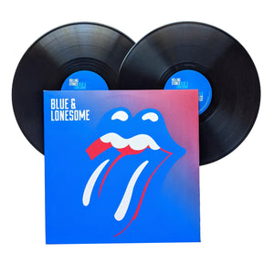 "The Rolling Stones: Blue & Lonesome 12"" (used)"