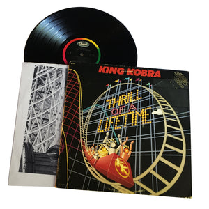 "King Kobra: Thrill Of A Lifetime 12"" (used)"