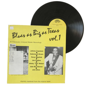"Various: Music As Big As Texas Vol. 1 12"" (used)"