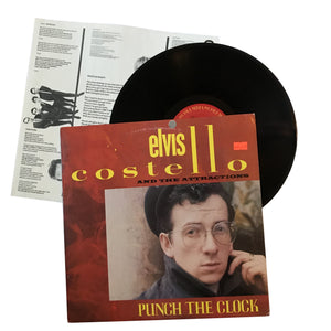 "Elvis Costello and The Attractions: Punch the Clock 12"" (used)"