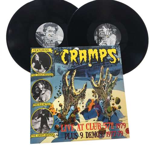 The Cramps: Live At Club 57!! 1979 12
