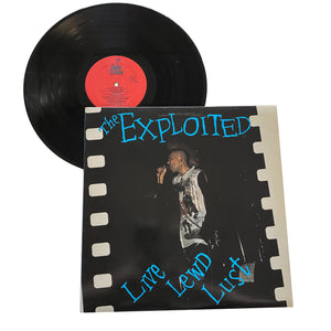 "The Exploited: Live Lewd Lust 12"" (used)"