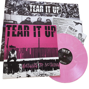 "Tear It Up: Nothing To Nothing 12"" (used)"