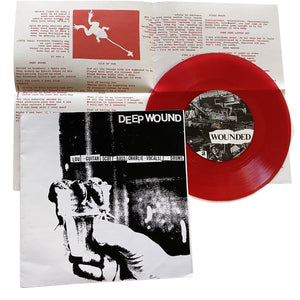 "Deep Wound: S/T 7"" (used)"