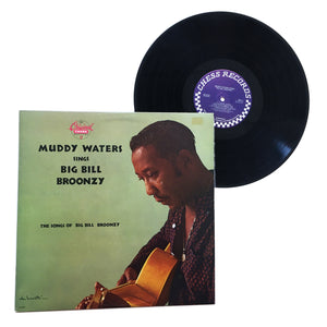 "Muddy Waters: Sings Big Bill Broonzy 12"" (used)"