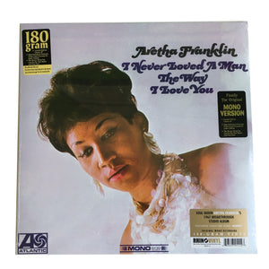 Aretha Franklin: I Never Loved a Man the Way I Love You 12""