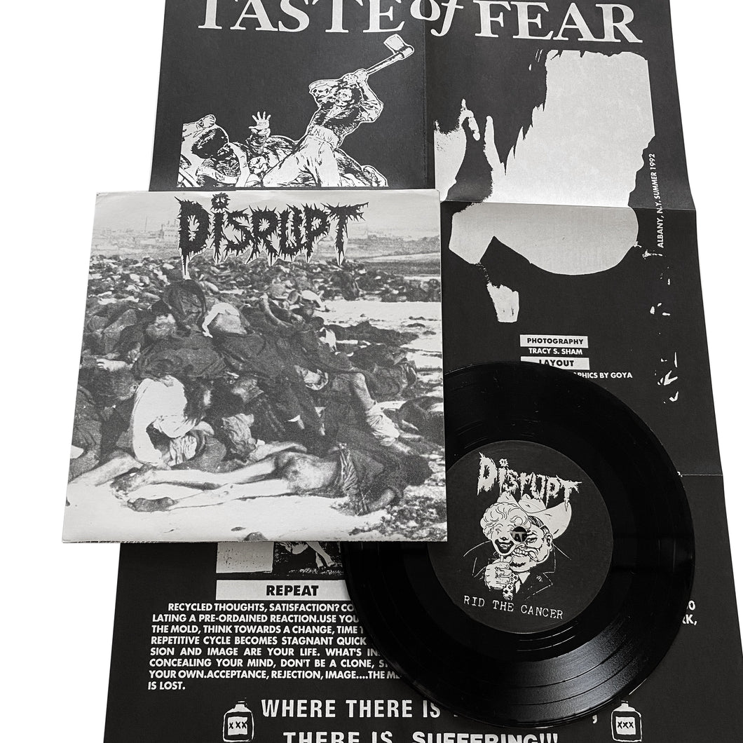 Taste Of Fear / Disrupt: Split 7
