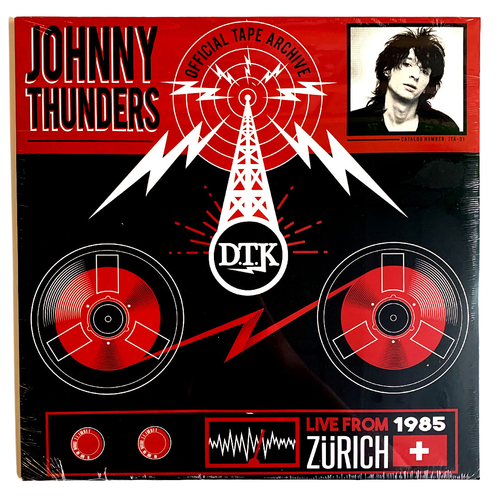 Johnny Thunders: Live From Zurich '85 12