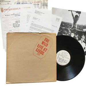 "The Who: Live At Leeds 12"" (used)"