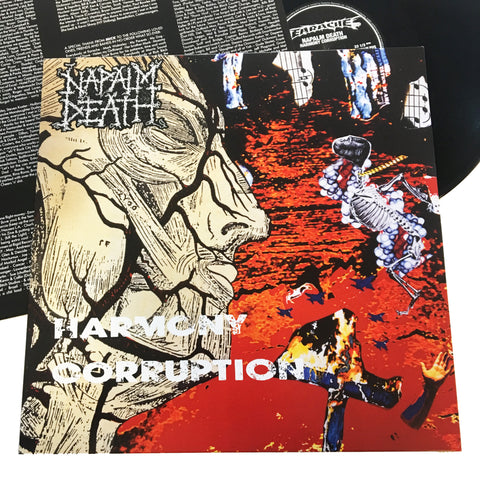 Napalm Death: Harmony Corruption 12""