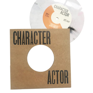 "Character Actor: S/T 7"" (new)"